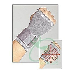 elastic wrist and palm supports
