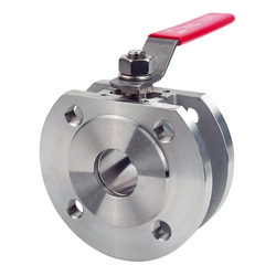 1 pc wafer ball valve