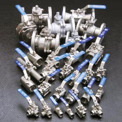 1-pc wafer type ball valves
