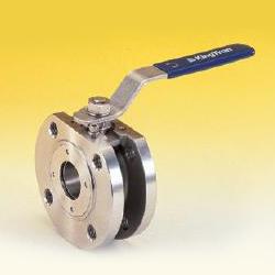1 piece full port wafer type ball valves