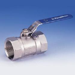 1 piece reduced port ball valves