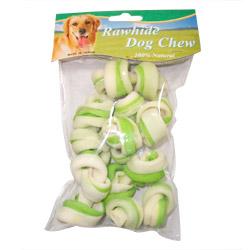 100 premium beef hide dog chews