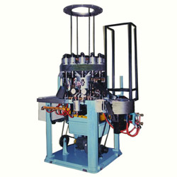 12 heads flare automatic machine