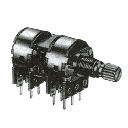 16mm rotary potentiometers