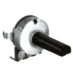 16mm snap in insulated shaft potentiometers
