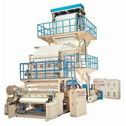 2-layer co-extrusion blown film machines