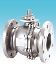 2 pc stainless steel ball valves