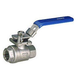 2-pc stainless steel full port ball valves