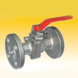 2 piece full port flanged ball valves
