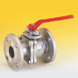 2 piece full port flanged ball valves
