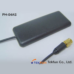2.5dbi gsm cdma glass mount patch car antenna