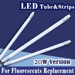 20w compact led strip tube lights