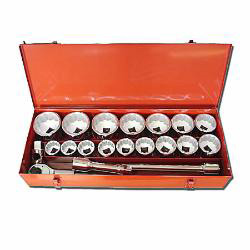 "22-pc 1"" dr. socket set"