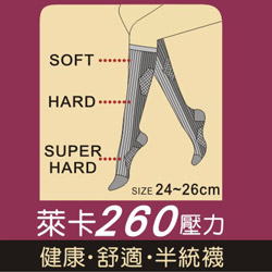 260den medical support socks