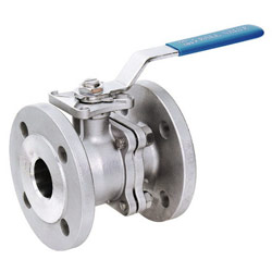 2pc flanged ball valves