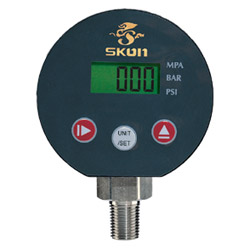 3 digital pressure gauges