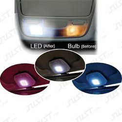 3-in-1 led dome lights