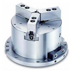 3 jaw hollow power chuck fixture
