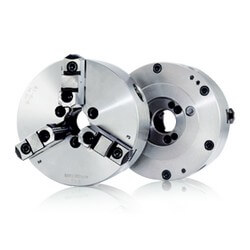 3-Jaw Strong Scroll Chucks  (D1 Camlock Direct Mounting & 2-Piece Jaws)