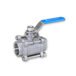 3 pc ball valves
