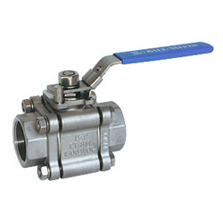 3 pc full bore screwed end ball valves
