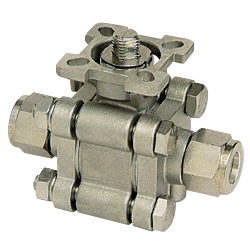 3 pc instrumentation ball valve