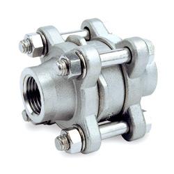 3 pc wafer disc check valve