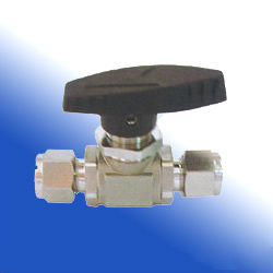 3-piece compression end ball valves