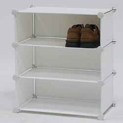 3 tier pp sheet shoes racks