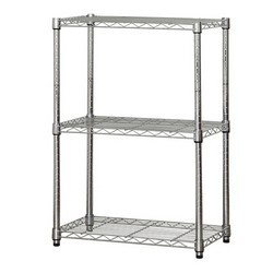 3 tier wired racks