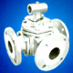 3 way ball valve flangeds