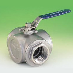 3 way full port ball valves