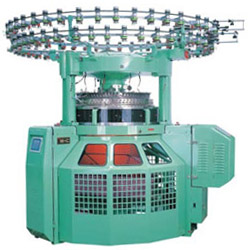 37 steps mini jacguard in 3 position double knitting machine