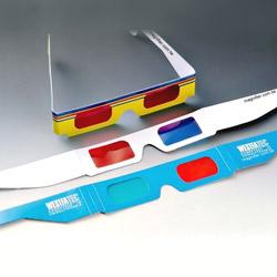 3d cardboard glasses (novelties)