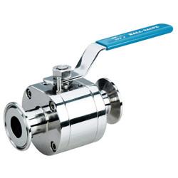 3pc sanitary ball valve