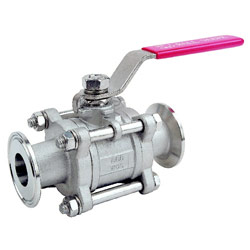 3pc sanitary ball valve