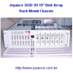 3u disk array rack mount chassis