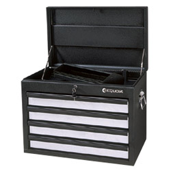 4 drawers good lock chest