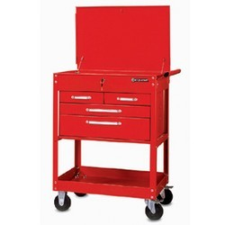 4 drawers service carts