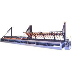 single side horizontal hydraulic composer
