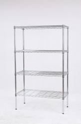 4-tier light duty wire racks