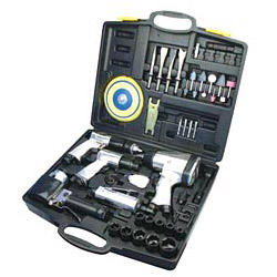 45 pieces air tool kit