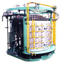 48 heads exhaust automatic machine