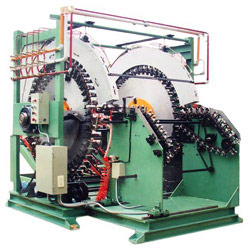 48 heads horizontal type basing automatic machine