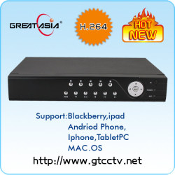 4ch h.264 real time stand alone dvr