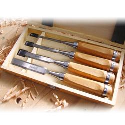 4pc bevel edge chisel kits