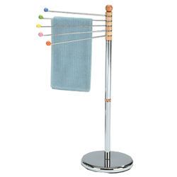 5 arm towel stand