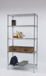 5-tier light duty wire racks