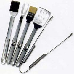 5pc handle bbq tool sets