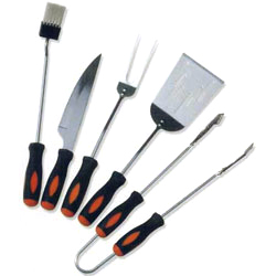 5pc mini tool set with plastic handle